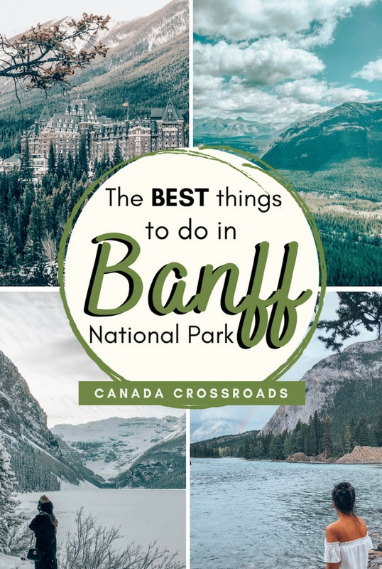 Pin for 3 days Banff Itinerary