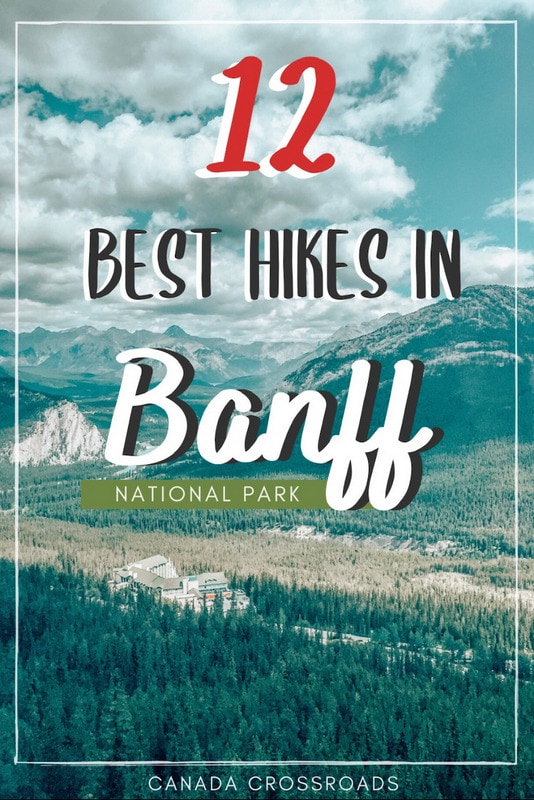 Best Hikes in Banff National Park Pin