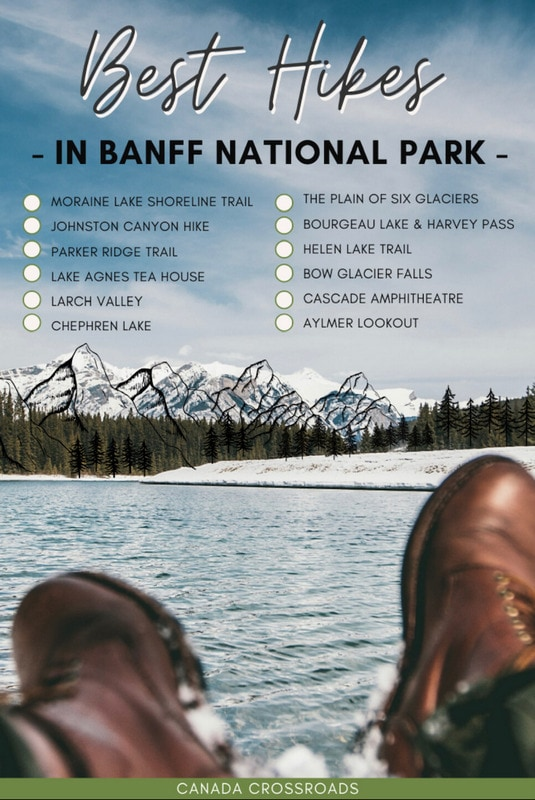 Pin for Banff National Park Hikes