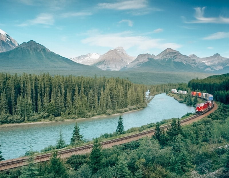 Scenic train ride - Canada bucket list