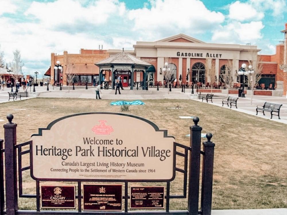 Historic Heritage Park Calgary