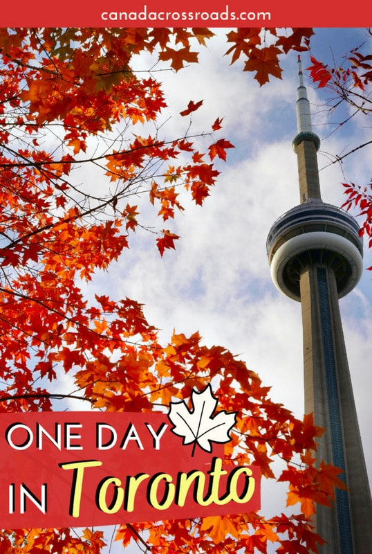 Pin for One day in Toronto itinerary