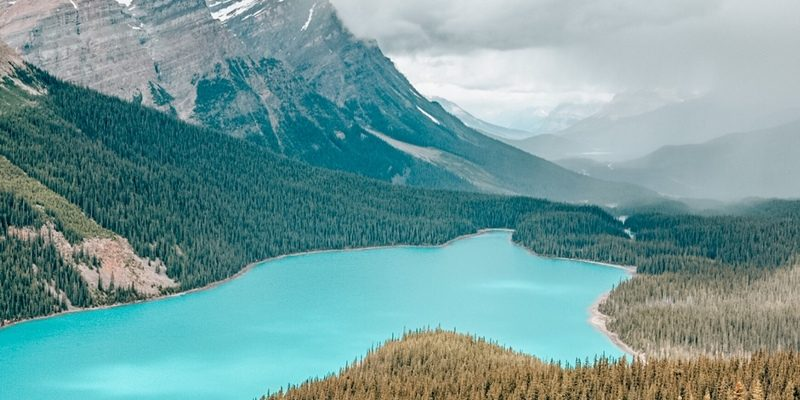 Peyto Lake - Most beautiful Lakes in Canada