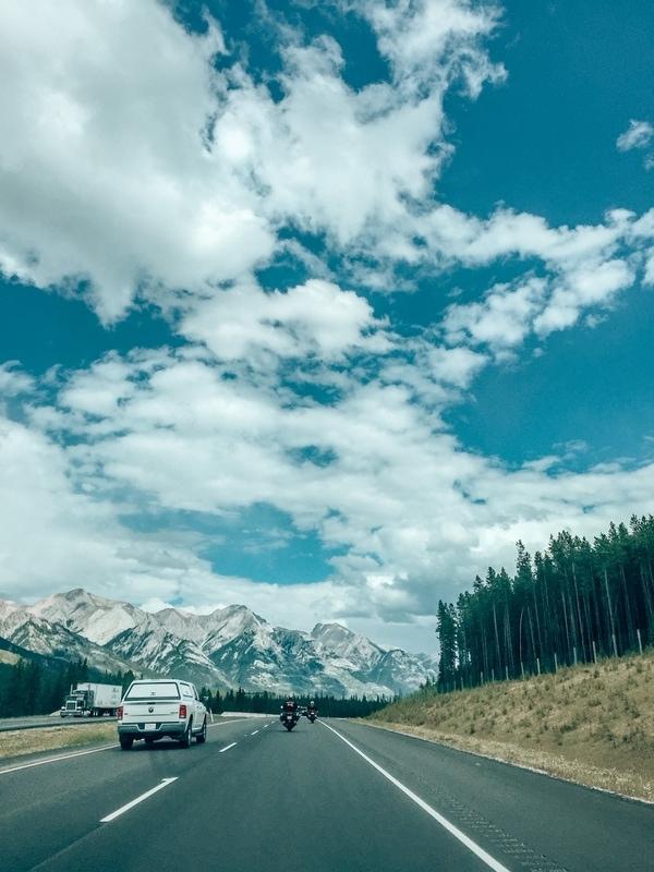 Canadian Rockies Roads