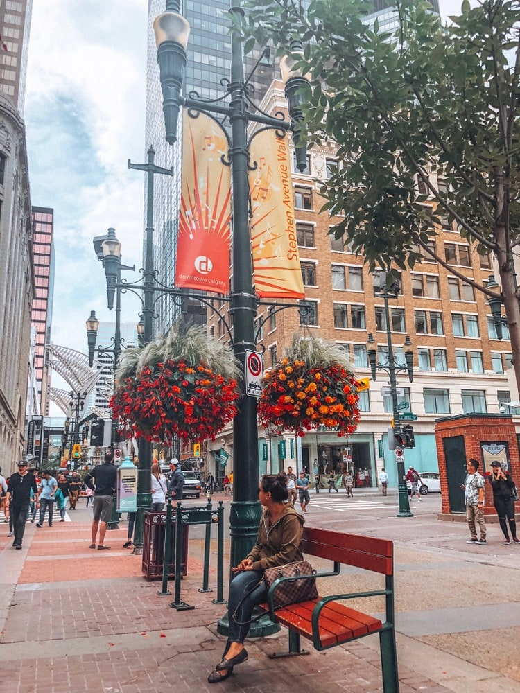 Stephen Avenue walk in one day in Calgary itinerary