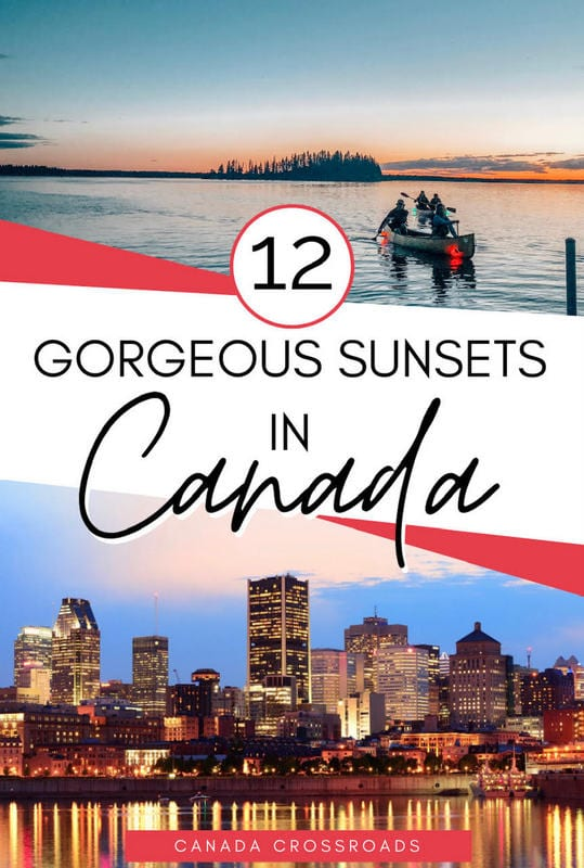 Pin for sunsets in Canada