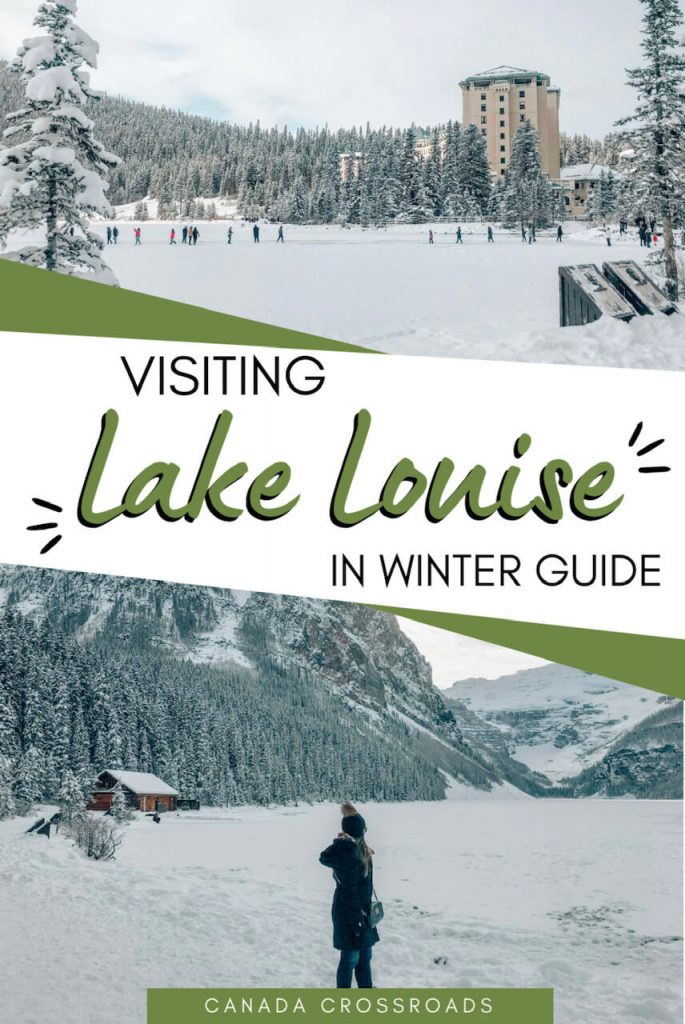 Pin for Lake Louise Canada Winter