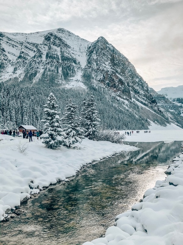 Visiting Lake Louise in winter means stepping into a snow-filled winter wonderland. Here is an ultimate guide to help plan your trip to Lake Louise & beyond