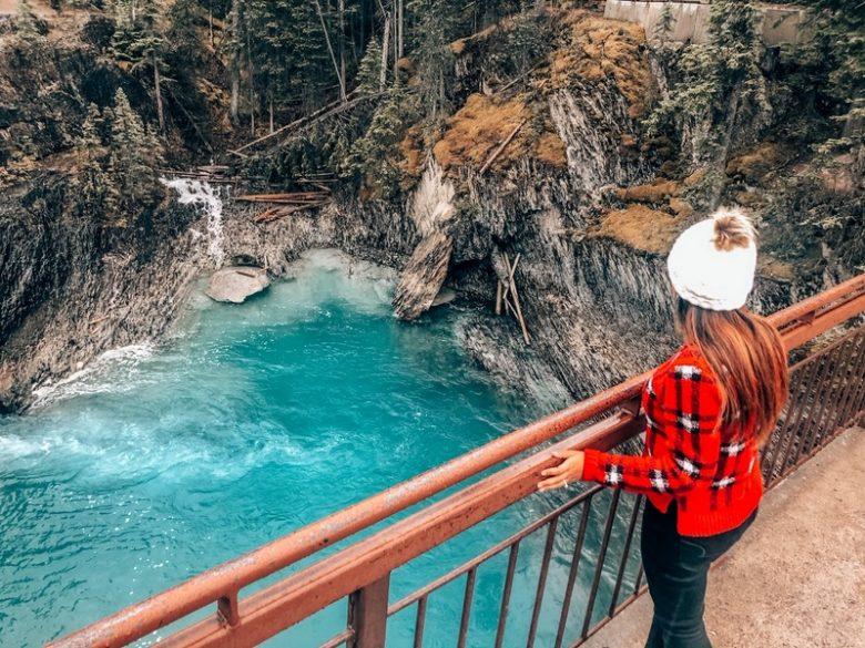 Viewing areas - Natural Bridge