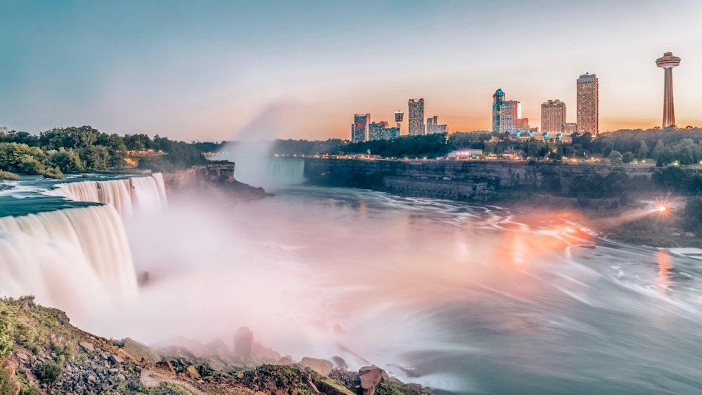 Sunsets in Niagara