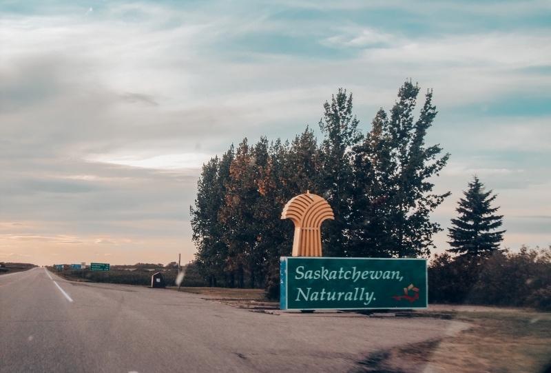 Saskatchewan Border