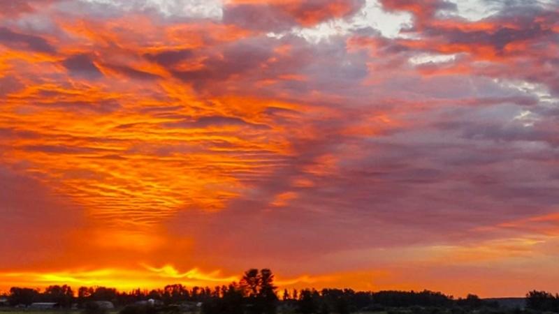 Sunsets in Edmonton Alberta