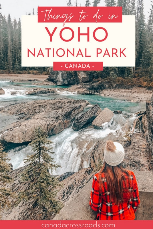 Pin for Things to do in Yoho National Park Canada
