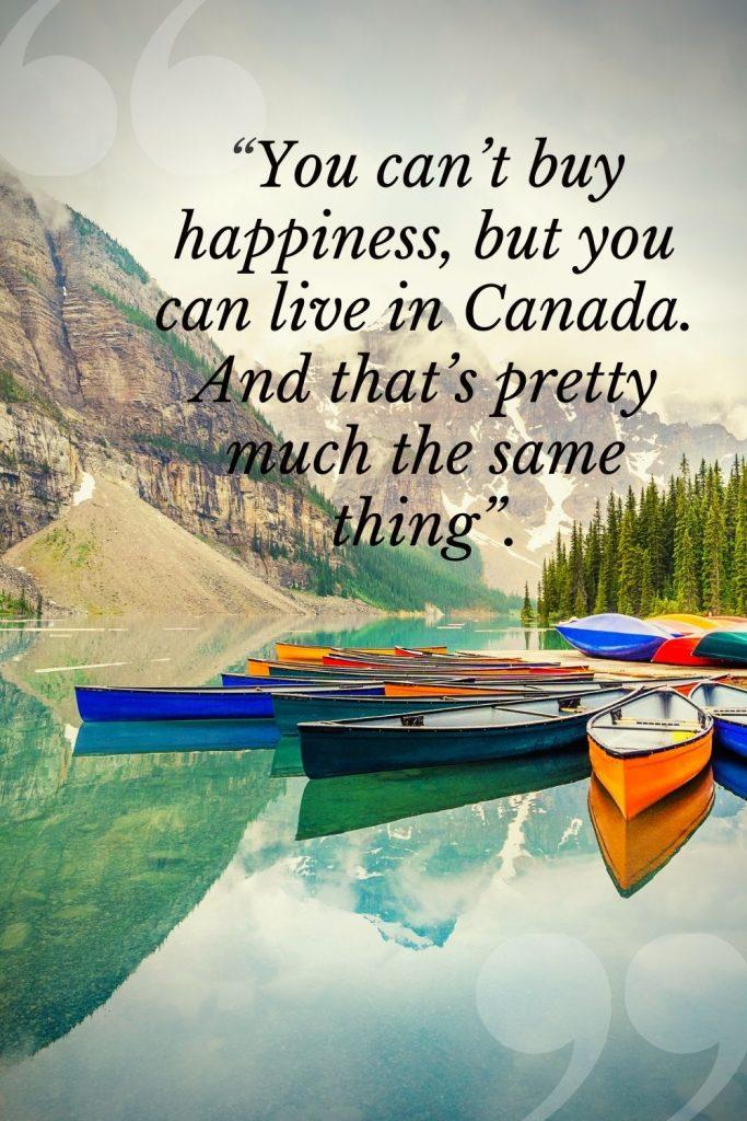 Canada Instagram Captions
