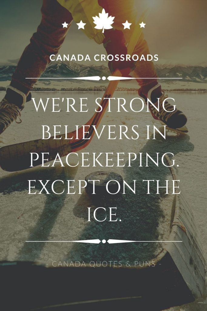 Canada sayings and puns