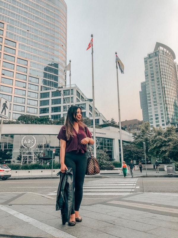 Downtown Vancouver Street Views