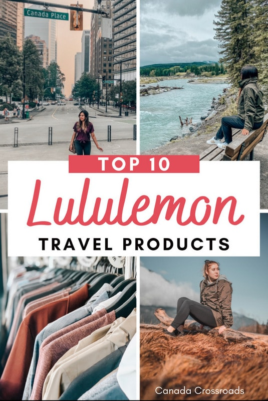 Lululemon Outfits for travel