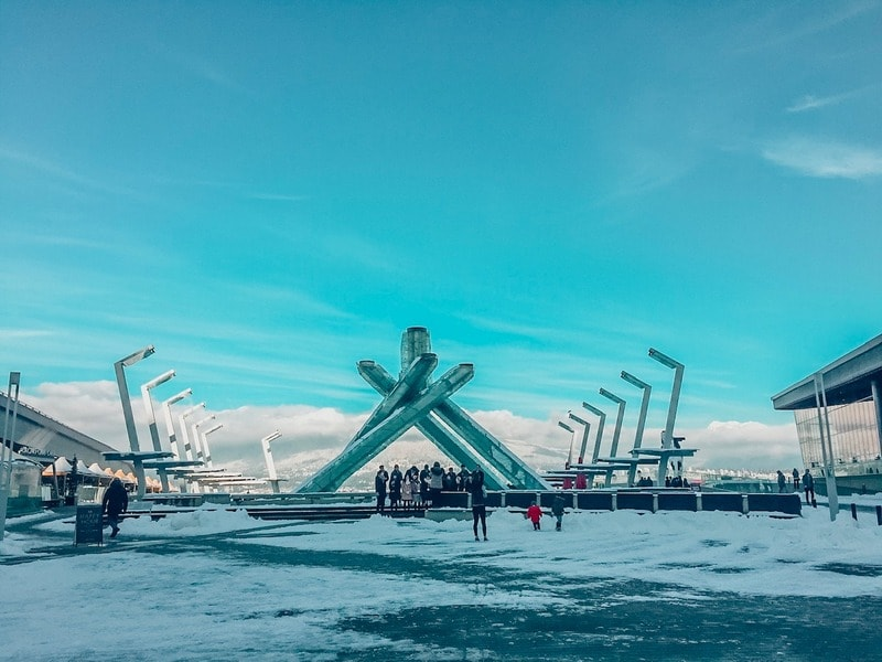 Olympic Cauldron part of one day in Vancouver itinerary