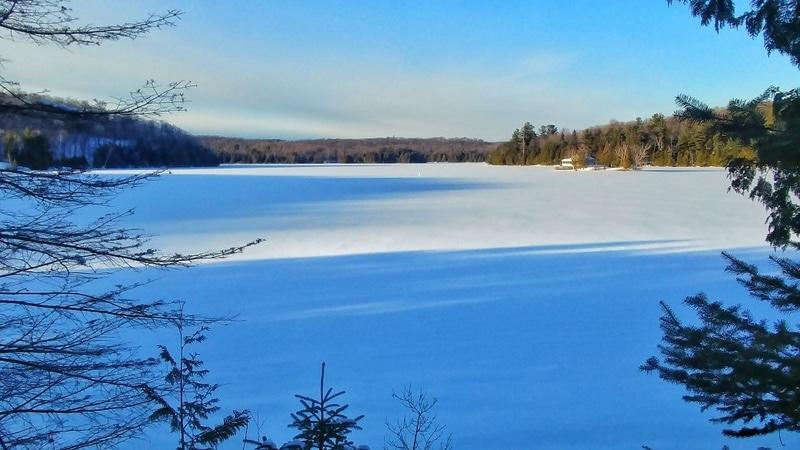 Parc de la Gatineau in winter