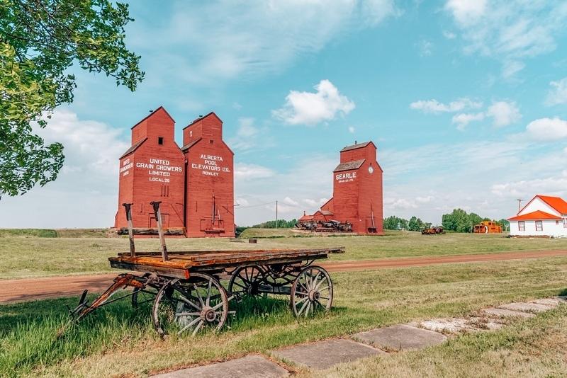 Rowley Small towns in Alberta