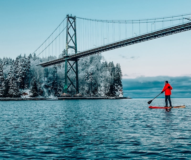 Lions Gate Bridge Views from the water