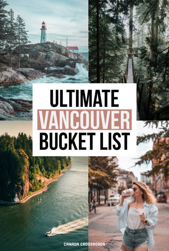 Pin for Vancouver bucket list