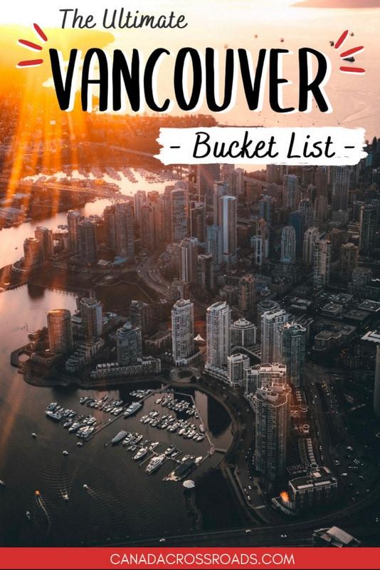 Vancouver bucket list pin