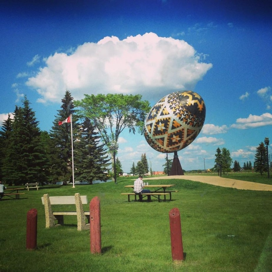 Vegreville Small town Alberta