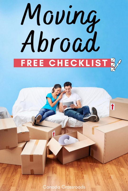free checklist for moving abroad
