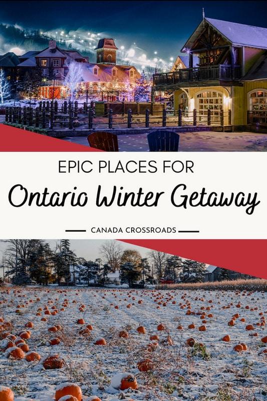 Pin for Ontario winter getaways