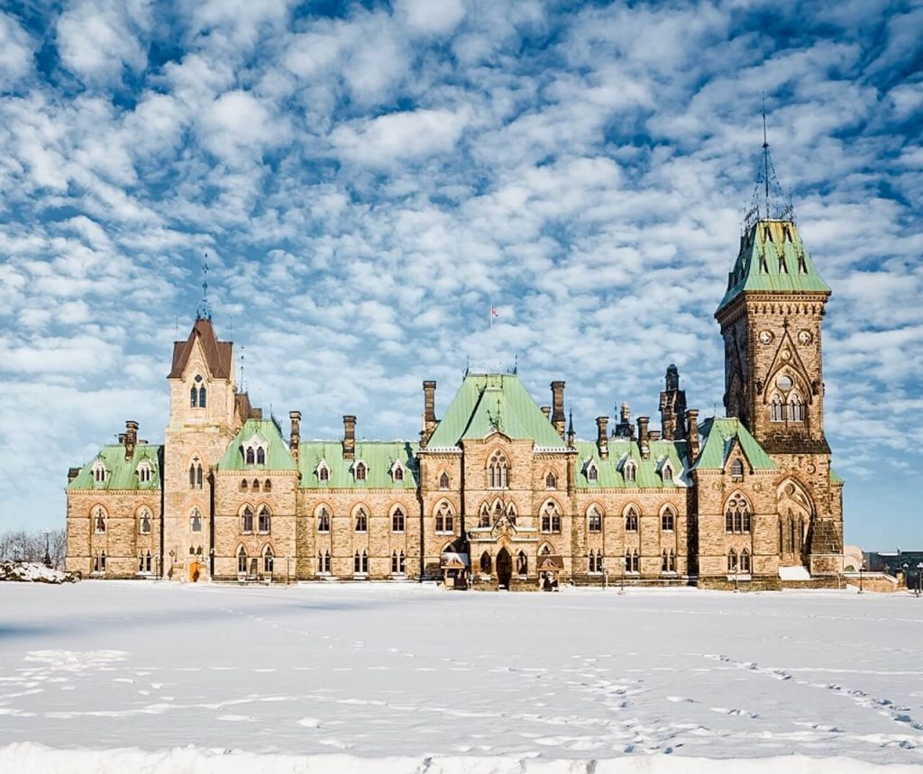 Ottawa in winter Ontario getaways