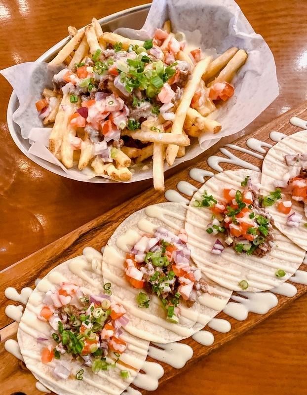 Must try: Bulgogi Fries and Bulgogi Tacos in Hanjan