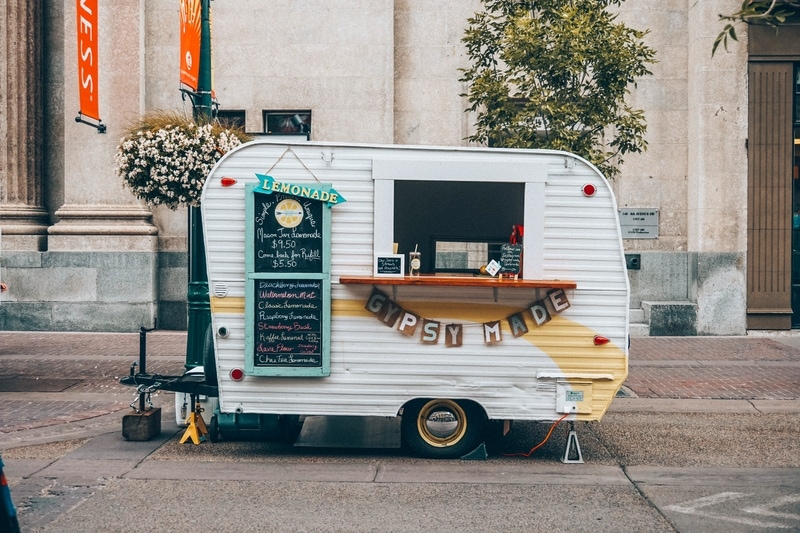 Food Truck in Calgary Downtown