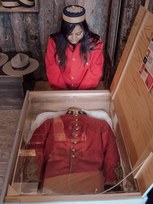Inside Fort Calgary