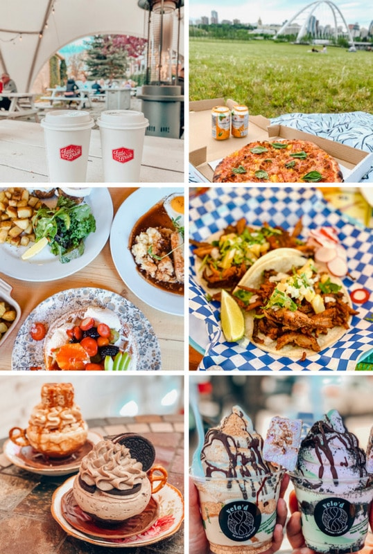 Places to eat in Edmonton