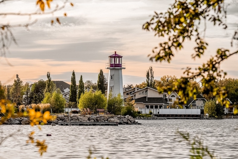 Sylvan Lake best day trips from Calgary Alberta