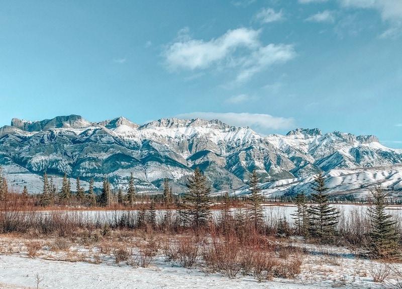 Canadian Rockies Jasper in winter
