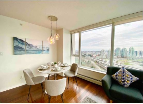 Downtown Vancouver Airbnb with ocean views