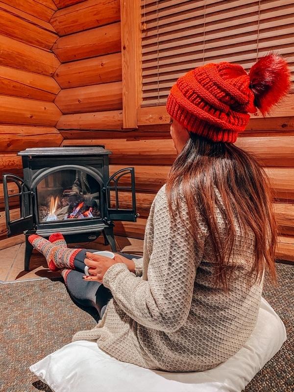 Inside Pocahontas Cabins Jasper
