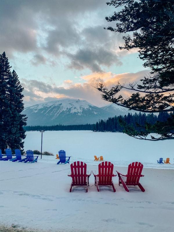 Jasper Fairmont Lodge views