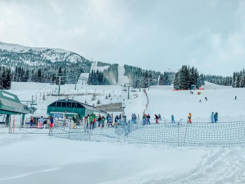 Marmot Ski Basin Alberta