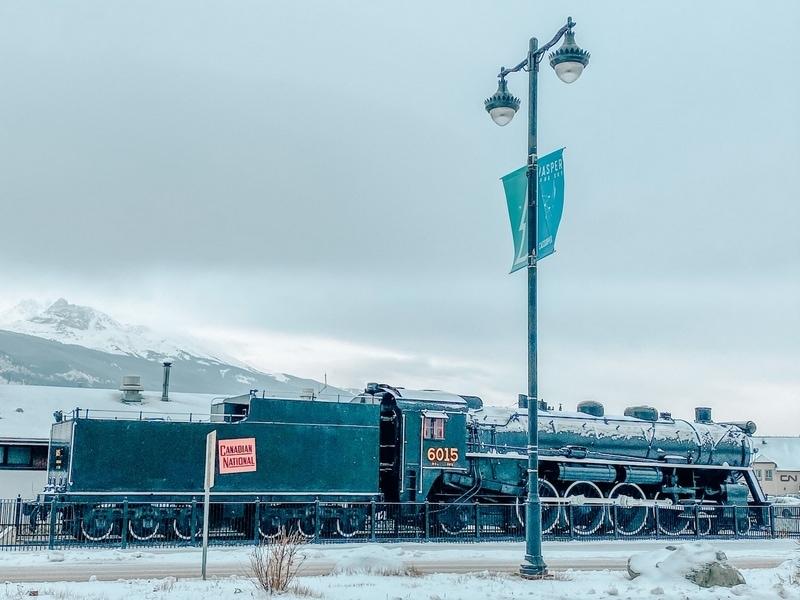 Railways in Jasper Canada
