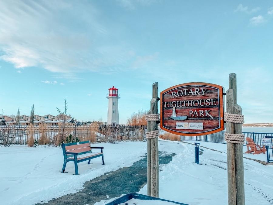 Rotary Lighthouse Park Sylvan Lake