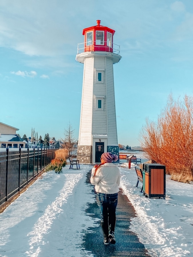 Things to do in Sylvan Lake Alberta in winter & summer
