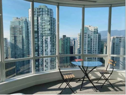Private room penthouse Vancouver