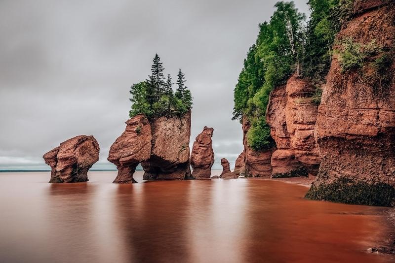 Hopewell Rocks Canada