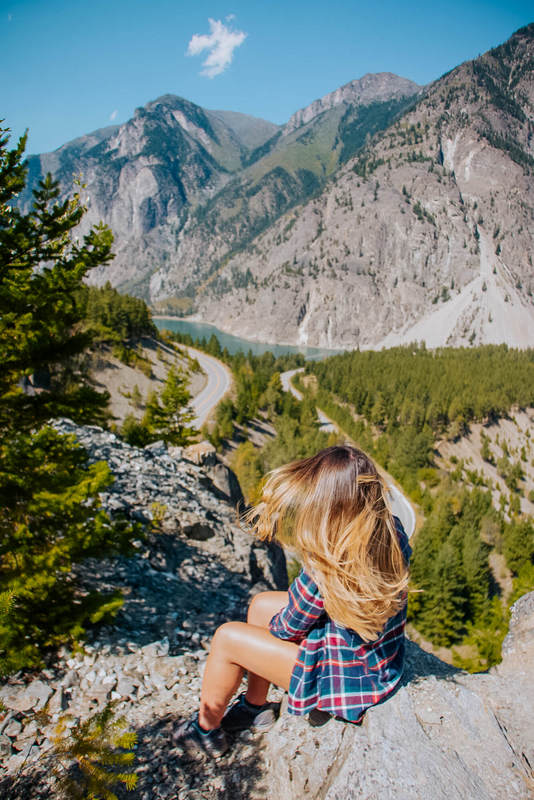 Seton Lake Lookout Hiking British Columbia