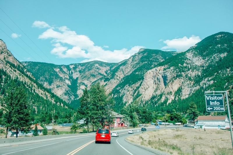 Vancouver Kelowna Banff Canada road trip