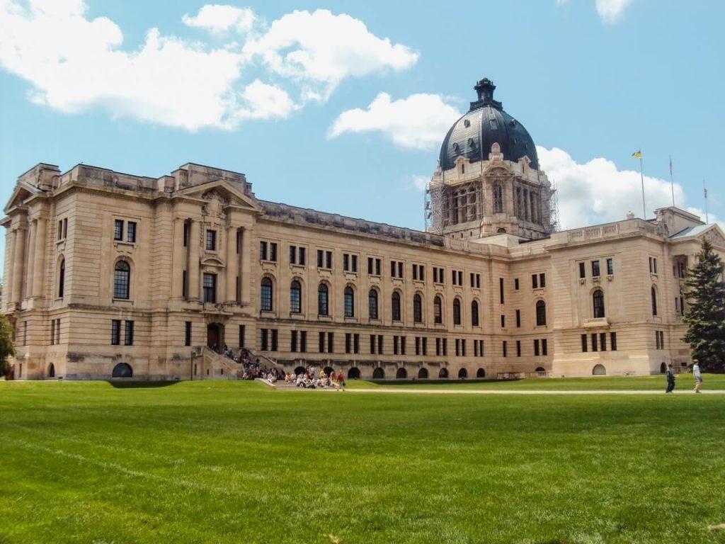 Regina Saskatchewan Legislature