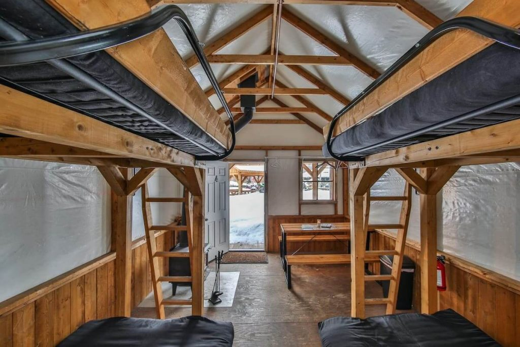 Prospector's Tent Best airbnbs in Canada